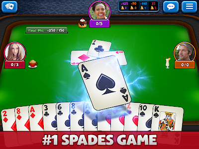 screenshot of Spades Plus version 3.26.0