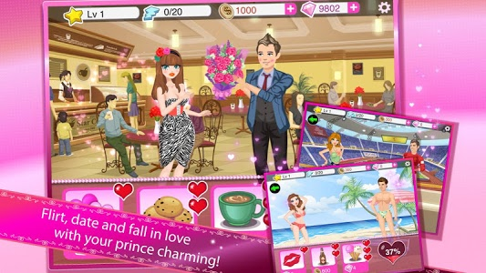 screenshot of Star Girl: Valentine Hearts version 4.2