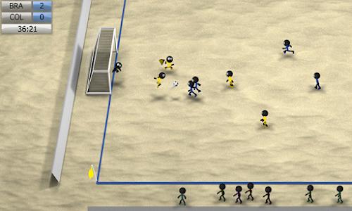 screenshot of Stickman Soccer 2014 version 2.6