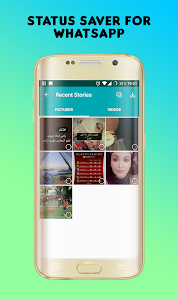 screenshot of Story Saver for Whatsapp version 1.1