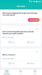 screenshot of Stulish - Anonymous Messages version 16.2