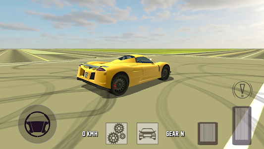 screenshot of Super Sport Car Simulator version 4.0