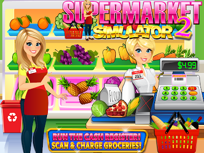 Download Supermarket Grocery Store Girl 1.8 APK