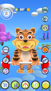 screenshot of Talking Tiger version 2.10