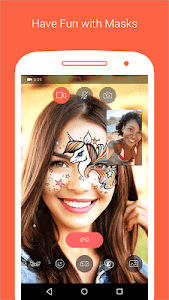 screenshot of Tango - Live Video Broadcast version Varies with device