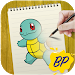 Download The Boy ? Painter ✏️ - How To Draw Pokemon ™️ 1.0.1 APK