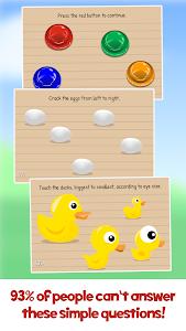 screenshot of The Moron Test version 3.47