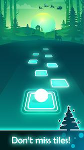 screenshot of Tiles Hop: EDM Rush! version 2.7.1