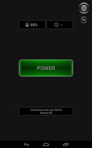 screenshot of Tiny Flashlight + LED version 5.1.4