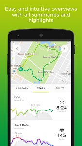 screenshot of TomTom Sports version 8.0.3