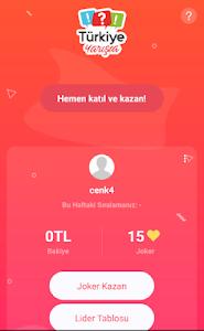 screenshot of Türkiye Yarışta version 1.0.21