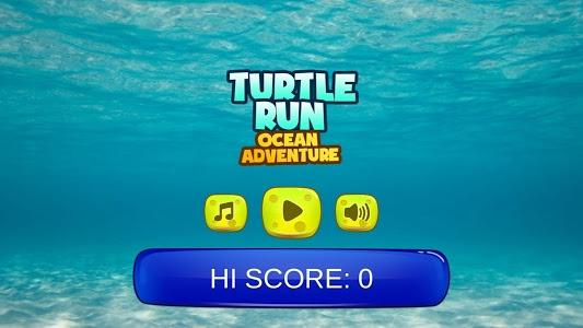 screenshot of Turtle Run:Ocean Adventure version 1.2