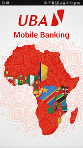 screenshot of UBA Mobile Banking version Varies with device