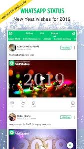 screenshot of VidStatus app - Status Videos & Status Downloader version 2.9.0