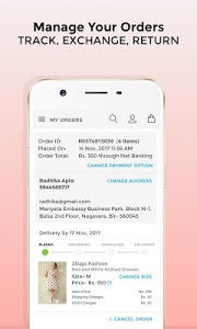 screenshot of Voonik Online Shopping App version 2.3.23