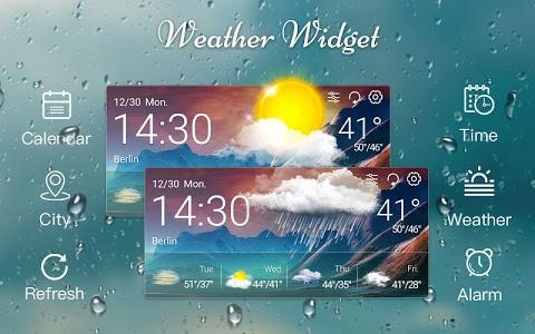 Download Weather & Clock Widget 1.0 APK