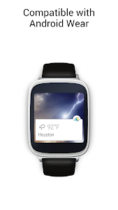 screenshot of Weather Live Free version Varies with device