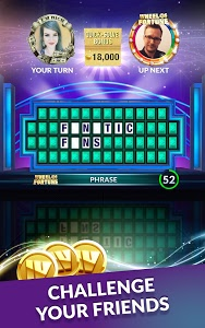 screenshot of Wheel of Fortune Free Play: Game Show Word Puzzles version 3.31.1