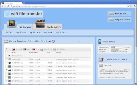 Download WiFi File Transfer 1.0.9 APK