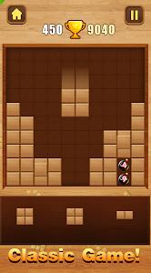 screenshot of Wood Block Puzzle version 1.0.9