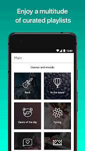 screenshot of Yandex.Music — download and play version Varies with device
