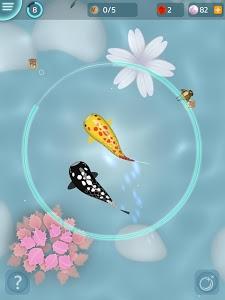screenshot of Zen Koi - Breed & Collect Fish version 1.3.2