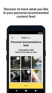 Download Zen: personalized stories feed 2.6.3 APK