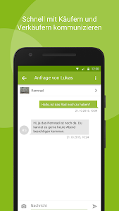 screenshot of eBay Kleinanzeigen for Germany version Varies with device