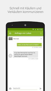 screenshot of eBay Kleinanzeigen for Germany version 6.9.4