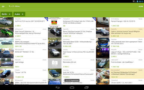 screenshot of eBay Kleinanzeigen for Germany version 6.5.0