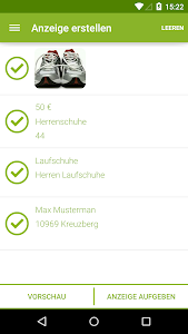 screenshot of eBay Kleinanzeigen for Germany version 6.0.4
