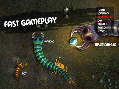 Download insatiable io snakes 1.3.1 APK