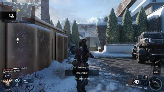 screenshot of Call of duty Black Ops III version 1.1