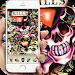 Download skull Street Graffiti theme 1.1.5 APK